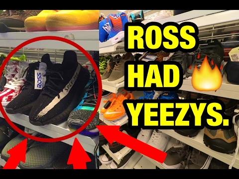 YEEZYS FOUND AT ROSS!!