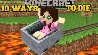 Video Minecraft: CRAZIEST DEATHS IMAGINABLE! - MORE WAYS TO DIE - Custom Map download in MP3, 3GP, MP4, WEBM, AVI, FLV January 2017