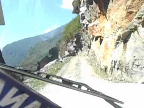 Most dangerous road of world #Manang Nepal