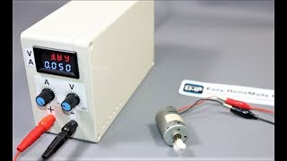 How to Make a DC Bench POWER SUPPLY at Home (0-30V & 0-3A) Adjustable