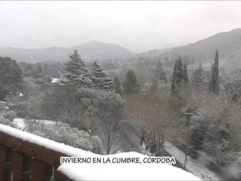 IMAGENES DE ARCHIVO DE CANAL 11 AÑO 2011: HERMOSO VIDEO CON LA CUMBRE NEVADA