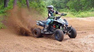Video Fastest Quad Rider On The Trails MP3, 3GP, MP4, WEBM, AVI, FLV Juli 2017