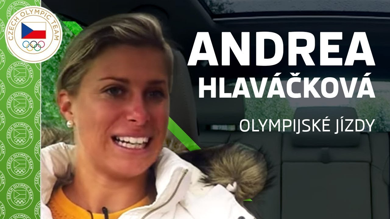 ŠKODA olympijské jízdy s Andreou Hlaváčkovou