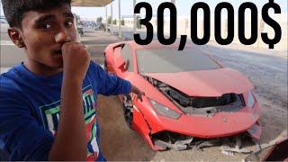 Video BUYING A CRASHED LAMBORGHINI HURACAN IN DUBAI MP3, 3GP, MP4, WEBM, AVI, FLV April 2019