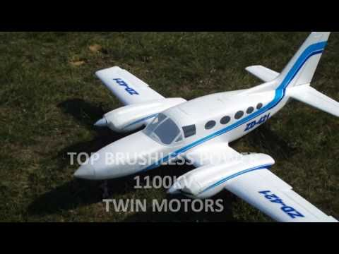 TOP RC GIANT CESSNA 421  1,6 m  WILD-TECHNIK EZFW