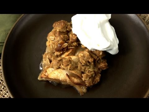 crisp - Sometimes an easy fall dessert is only a few apples away. In this video recipe, Amy Wisniewski from the CHOW Test Kitchen shares how to make a simple, delici...