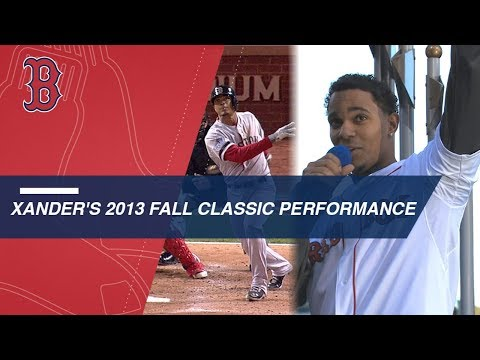 Video: Bogaerts flashes talent in 2013 Fall Classic debut