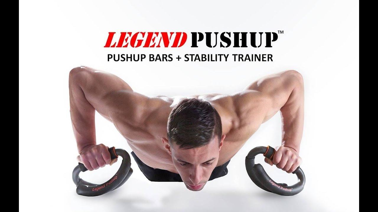 Legend Body // Push-up Bars + Stability Trainer video thumbnail