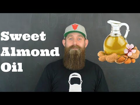 Beard oil - Carrier oils 101 - Sweet Almond Oil