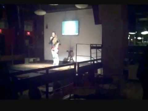 Christine Crocker stand up comedian: Nick's Comedy Stop