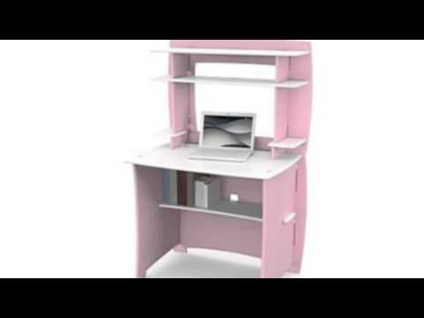Video YouTube overview of the Kids Desk With Hutch