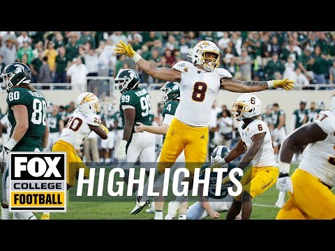 Michigan State misses game-tying FG, giving Arizona St the win | FOX COLLEGE FOOTBALL HIGHLIGHTS