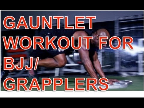 Grapplers/BJJ Workout: Gauntlet Circuit