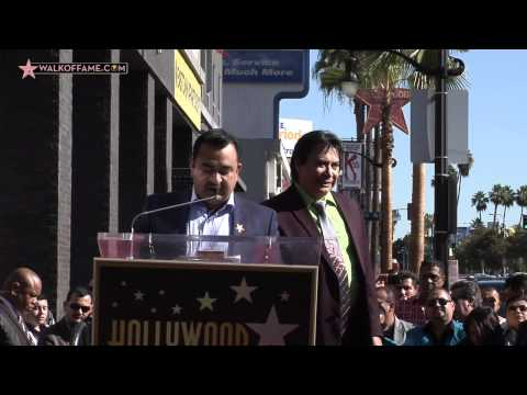 Renan Almendarez Coelle Walk of Fame Ceremony
