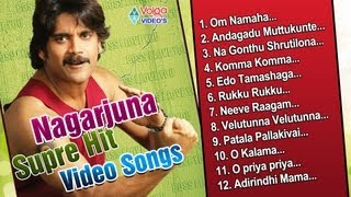 Nagarjuna Super Hit Video Songs Vol 3 | Jukebox | Akkineni Nagarjuna - Full HD