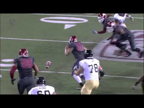 Deone Bucannon Washington St. Highlights video.