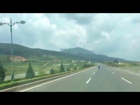 Crazy Biker on the Highway
