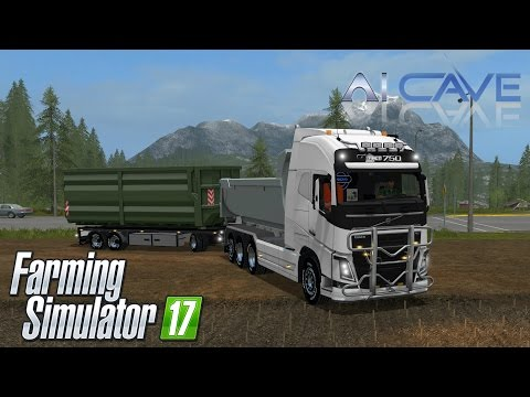 VOLVO FH 750 V8 HKL with trailer V1