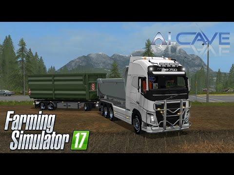 VOLVO FH 750 V8 HKL with trailer V1