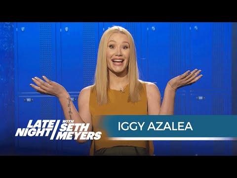WATCH: Iggy learns teen slang!