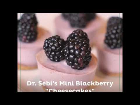 "Dr. Sebi's Mini Blackberry ""Cheesecakes"""