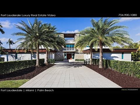 Fort Lauderdale Luxury Real Estate Video Company