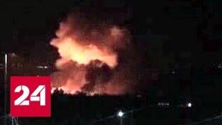 Сирийские военные обвинили Израиль в обстреле аэродрома под Дамаском