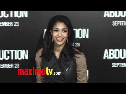 Kali Hawk at ABDUCTION World Premiere Arrivals