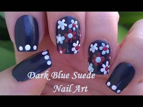 tutorial - nail art floreale in 5 minuti!