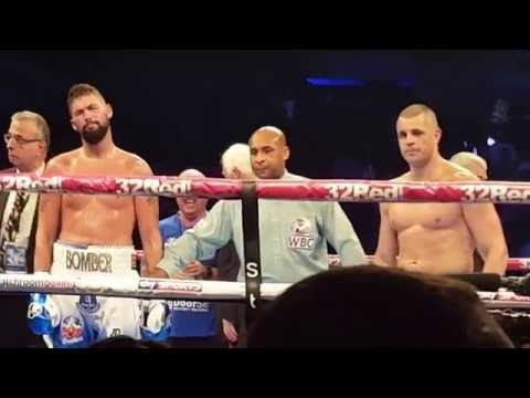Tony Bellew launches for David Haye (immediate aftermath and reaction)