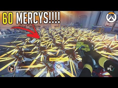 OVERWATCH ► FUNNIES, FAILS & CRAZY MOMENTS #67 (видео)