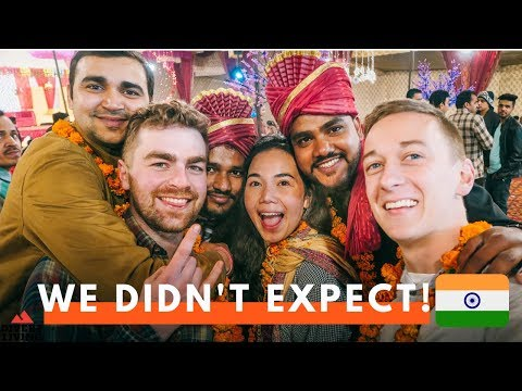 Download Foreigners INVITED To Indian Wedding ! - Our First TIme ! 🇮🇳 HD Mp4 3GP Video and MP3