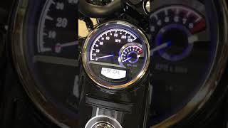 10. Harley Davidson Road King Special speedo/tach combo