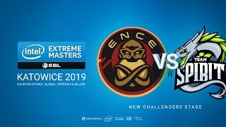 ENCE vs Spirit, game 1