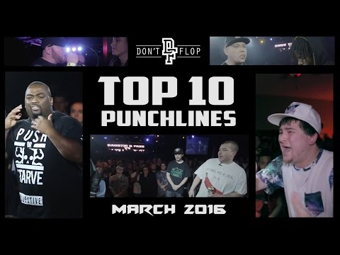 DON'T FLOP | TOP 10 PUNCHLINES | MARCH 2016 @DontFlop
