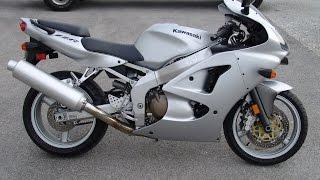 8. 2006 Kawasaki ZZR600 Silver
