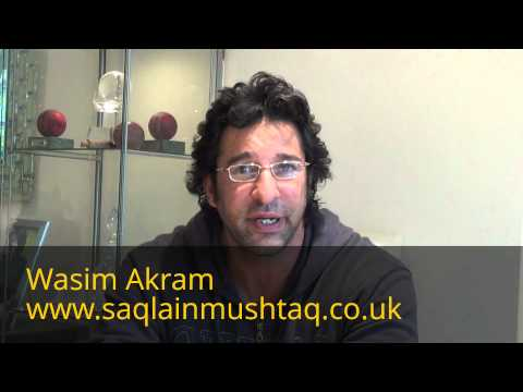 saqlain - The Pakistan cricket legend Wasim Akram talking about the legendary off-spinner Saqlain Mushtaq. Please follow us on twitter @Saqi_Official and Like us on ww...