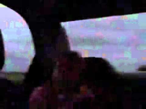 avvistamento ufo in auto