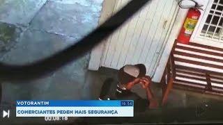 Comerciantes preocupados com furtos em sequência no Centro de Votorantim