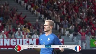 "Video PES 2016 PORTUGAL Vs. FRANCE EURO 2016 Final Match ""Prediction"" Highlights MP3, 3GP, MP4, WEBM, AVI, FLV Juni 2017"