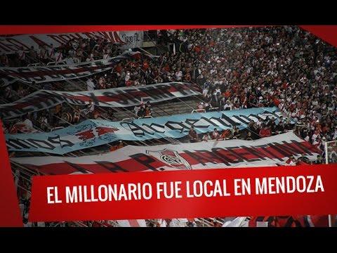 El Millonario fue local en Mendoza - Los Borrachos del Tablón - River Plate - Argentina - América del Sur