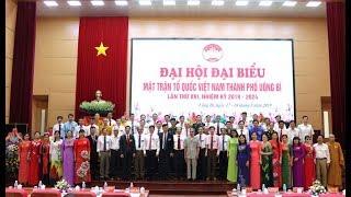 Đại hội MTTQ thành phố Uông Bí lần thứ XVI, nhiệm kỳ 2019-2024 thành công tốt đẹp