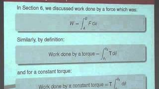 Dynamics 8 - Torque&Centrifugal Force