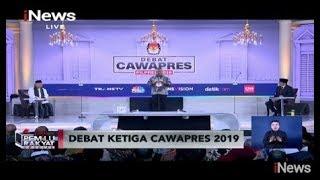 Video [FULL] Debat Ketiga Calon Wakil Presiden Pemilu 2019 Part 01 - Pemilu Rakyat 17/03 MP3, 3GP, MP4, WEBM, AVI, FLV Maret 2019