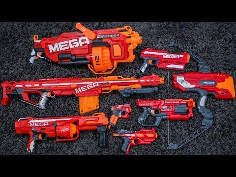 Nerf Mega | Series Overview & Top Picks (видео)