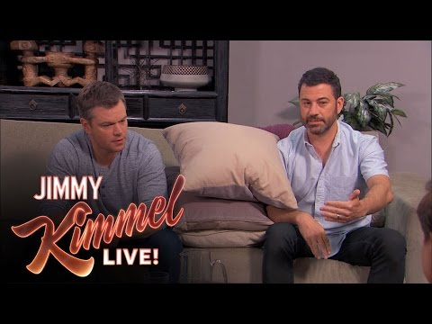 Matt Damon and Jimmy Kimmel Return to Couples