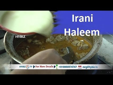 Haleem Recipe Easy Steps-Hyderabadi Irani Haleem