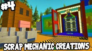 Scrap Mechanic CREATIONS! - EPIC FUN HOUSE + DIGLETT! [#4] W/AshDubh | Gameplay |