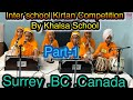 Inter school Kirtan Competition 2019 part -1 Organised by Khalsa School. Surrey