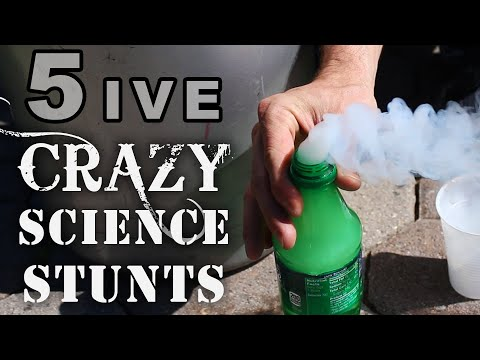 5 pokusů, které vám ve škole neukážou